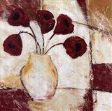 Red Flowers II Art Print