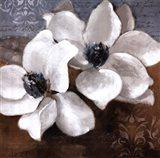 White Magnolia II Art Print