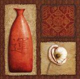 Oriental Collage I Art Print