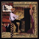 Jazz Piano - Mini Art Print