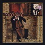 Jazz Cello Art Print