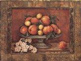 Florentine Peach Art Print