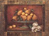 Florentine Pear Art Print