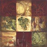 Tuscan Wine I Art Print