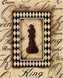 Chess King - Mini Art Print