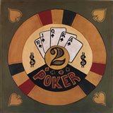 Poker - $2 Art Print