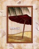 Parasol Club I Art Print