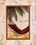 Parasol Club III Art Print