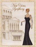 Symphony - Mini Art Print
