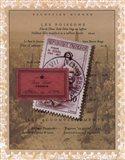 French Menu Art Print