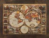 Old World View II Art Print