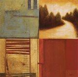 Lakeside Memories II Art Print