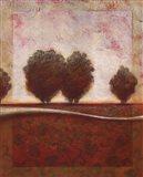 Morning Mist Rising II Art Print
