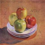 Four Apples Art Print