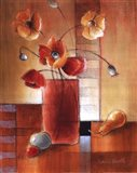 Afternoon Poppy Still Life I Art Print