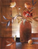 Afternoon Poppy Still Life II Art Print