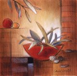 Afternoon Bamboo Leaves IV Art Print