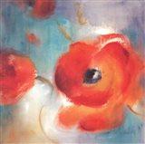 Scarlet Poppies In Bloom II Art Print