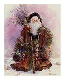Santa's Bounty Art Print
