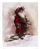 Olde World Santa Art Print