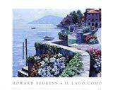 Il Lago Como Art Print