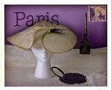 Paris Hat Art Print