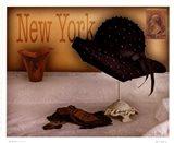 New York Hat Art Print