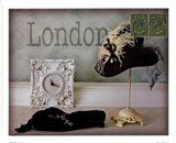London Hat Art Print