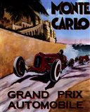 Monte Carlo Grand Prix Art Print