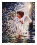 Blessings In My Father's Garden Art Print