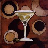 Martini Cocktail Art Print