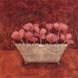 Tuscan Bowl With Flowers II Art Print