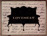 Loveseat Art Print
