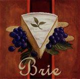 Brie Art Print