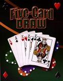 Five Card Draw Art Print