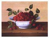 Still Life With Raspberries Art Print