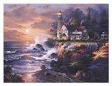 Twilight Beacon Art Print