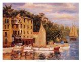 San Miguel Harbor Art Print