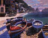 Capri Cove Art Print