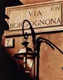 Via Borgognona Art Print