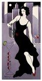 La Dame En Noire Art Print