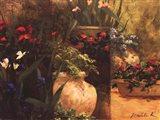 Flower Pots Right Art Print