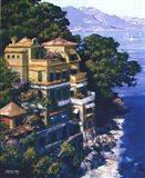 Cove At Portofino Art Print