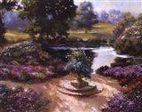 Garden Centerpiece Art Print