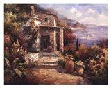 Monterosso Villa Art Print