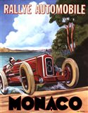 Monaco Rallye Art Print