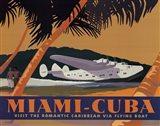 Miami-Cuba Art Print