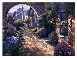 Villa Cipriani Archway Art Print