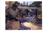 Bellagio Garden Art Print