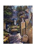 Palm Beach Flower Garden Art Print